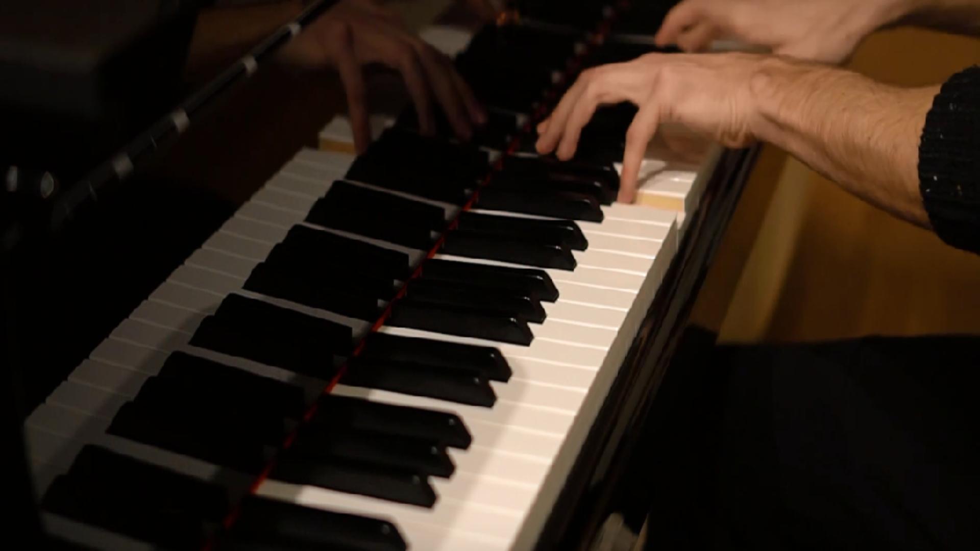 Composições ao piano