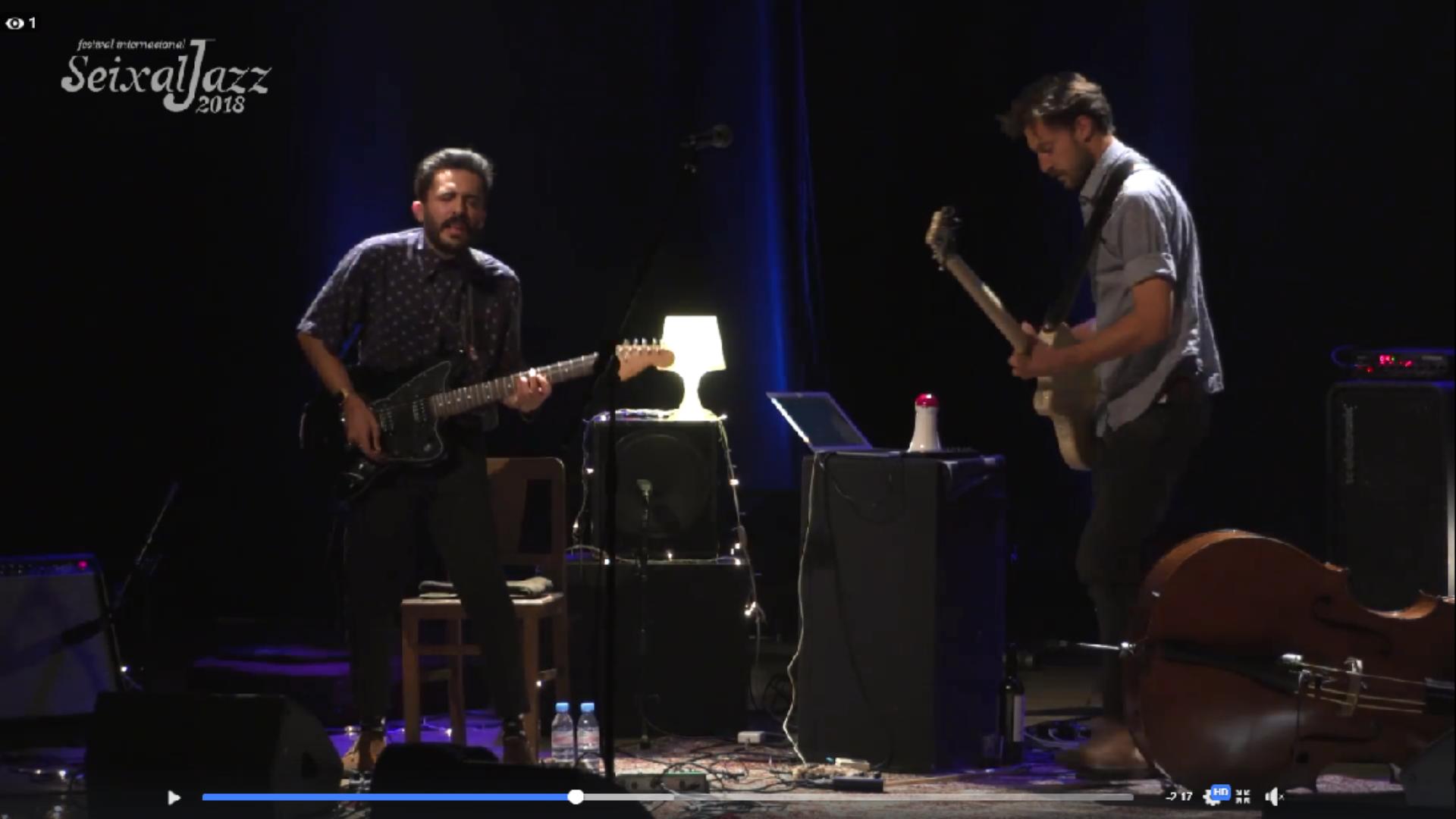 Pedro Branco e João Hasselberg no Seixal Jazz